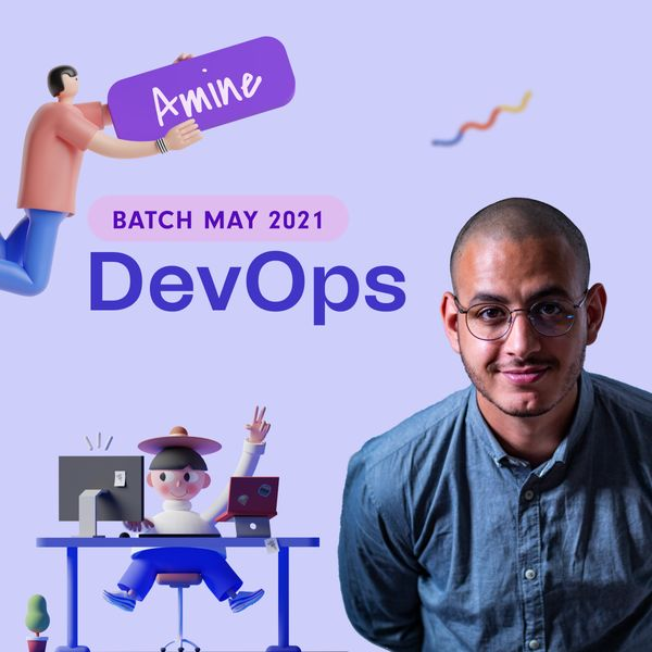 Amine, from DevOps to Machine Learning Engineer.